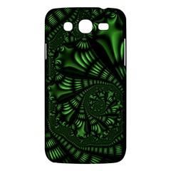 Fractal Drawing Green Spirals Samsung Galaxy Mega 5 8 I9152 Hardshell Case  by Simbadda