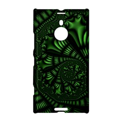 Fractal Drawing Green Spirals Nokia Lumia 1520 by Simbadda
