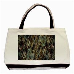 Abstract Chinese Background Created From Building Kaleidoscope Basic Tote Bag (two Sides) by Simbadda