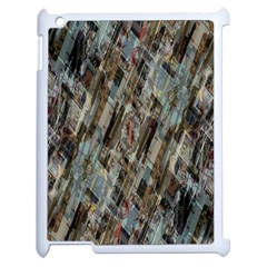 Abstract Chinese Background Created From Building Kaleidoscope Apple Ipad 2 Case (white) by Simbadda
