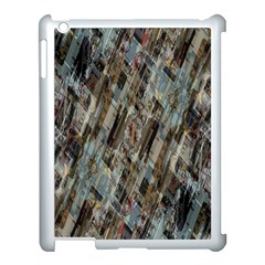 Abstract Chinese Background Created From Building Kaleidoscope Apple Ipad 3/4 Case (white) by Simbadda