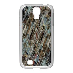 Abstract Chinese Background Created From Building Kaleidoscope Samsung Galaxy S4 I9500/ I9505 Case (white) by Simbadda