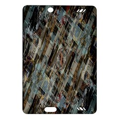 Abstract Chinese Background Created From Building Kaleidoscope Amazon Kindle Fire Hd (2013) Hardshell Case by Simbadda
