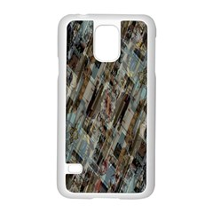 Abstract Chinese Background Created From Building Kaleidoscope Samsung Galaxy S5 Case (white) by Simbadda