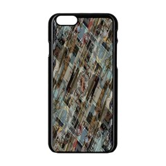 Abstract Chinese Background Created From Building Kaleidoscope Apple Iphone 6/6s Black Enamel Case by Simbadda