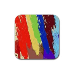 Hintergrund Tapete  Texture Rubber Square Coaster (4 Pack)  by Simbadda