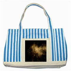 Fireworks Party July 4th Firework Striped Blue Tote Bag by Simbadda