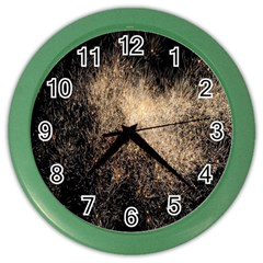 Fireworks Party July 4th Firework Color Wall Clocks by Simbadda