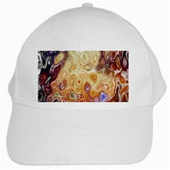Space Abstraction Background Digital Computer Graphic White Cap by Simbadda