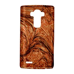 3d Glass Frame With Fractal Background LG G4 Hardshell Case by Simbadda