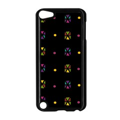 Abstract A Colorful Modern Illustration Black Background Apple Ipod Touch 5 Case (black) by Simbadda