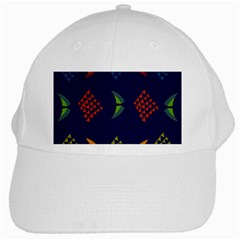 Abstract A Colorful Modern Illustration White Cap by Simbadda