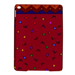 Red Abstract A Colorful Modern Illustration Ipad Air 2 Hardshell Cases by Simbadda