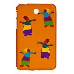 A Colorful Modern Illustration For Lovers Samsung Galaxy Tab 3 (7 ) P3200 Hardshell Case  by Simbadda