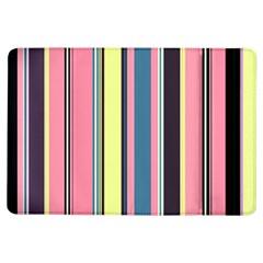 Seamless Colorful Stripes Pattern Background Wallpaper Ipad Air Flip by Simbadda