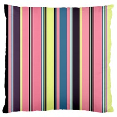 Seamless Colorful Stripes Pattern Background Wallpaper Standard Flano Cushion Case (one Side) by Simbadda