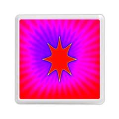 Pink Digital Computer Graphic Memory Card Reader (square)  by Simbadda