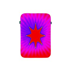 Pink Digital Computer Graphic Apple Ipad Mini Protective Soft Cases by Simbadda