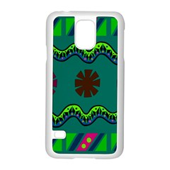 A Colorful Modern Illustration Samsung Galaxy S5 Case (white) by Simbadda