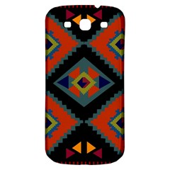 Abstract A Colorful Modern Illustration Samsung Galaxy S3 S Iii Classic Hardshell Back Case by Simbadda