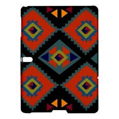 Abstract A Colorful Modern Illustration Samsung Galaxy Tab S (10 5 ) Hardshell Case  by Simbadda