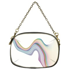 Abstract Ribbon Background Chain Purses (two Sides)