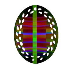 Galileo Galilei Reincarnation Abstract Character Ornament (oval Filigree) by Simbadda