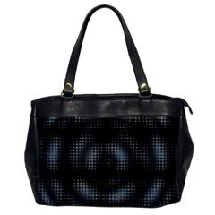 Circular Abstract Blend Wallpaper Design Office Handbags by Simbadda