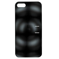 Circular Abstract Blend Wallpaper Design Apple Iphone 5 Hardshell Case With Stand by Simbadda
