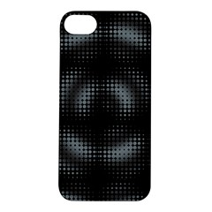 Circular Abstract Blend Wallpaper Design Apple Iphone 5s/ Se Hardshell Case by Simbadda