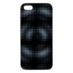 Circular Abstract Blend Wallpaper Design Iphone 5s/ Se Premium Hardshell Case by Simbadda
