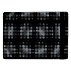 Circular Abstract Blend Wallpaper Design Samsung Galaxy Tab Pro 12 2  Flip Case by Simbadda