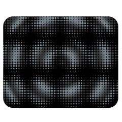 Circular Abstract Blend Wallpaper Design Double Sided Flano Blanket (medium)  by Simbadda