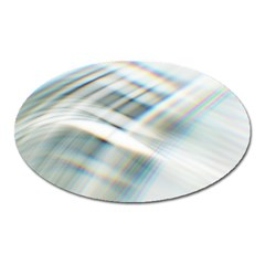 Business Background Abstract Oval Magnet by Simbadda