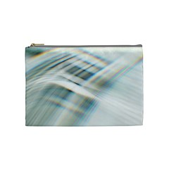 Business Background Abstract Cosmetic Bag (medium)  by Simbadda