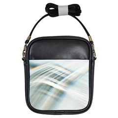 Business Background Abstract Girls Sling Bags by Simbadda