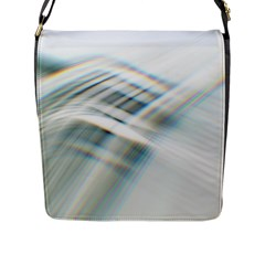 Business Background Abstract Flap Messenger Bag (l)  by Simbadda