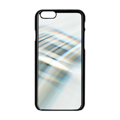 Business Background Abstract Apple Iphone 6/6s Black Enamel Case by Simbadda