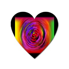 Colors Of My Life Heart Magnet by Simbadda