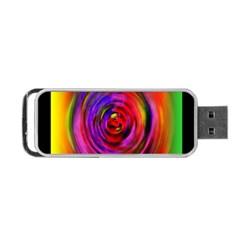 Colors Of My Life Portable Usb Flash (two Sides) by Simbadda