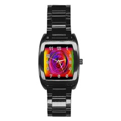 Colors Of My Life Stainless Steel Barrel Watch by Simbadda