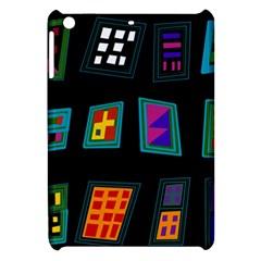 Abstract A Colorful Modern Illustration Apple Ipad Mini Hardshell Case by Simbadda