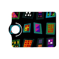 Abstract A Colorful Modern Illustration Kindle Fire Hd (2013) Flip 360 Case by Simbadda