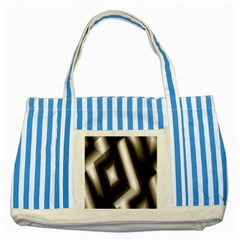 Abstract Hintergrund Wallpapers Striped Blue Tote Bag