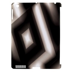 Abstract Hintergrund Wallpapers Apple Ipad 3/4 Hardshell Case (compatible With Smart Cover) by Simbadda