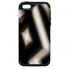Abstract Hintergrund Wallpapers Apple Iphone 5 Hardshell Case (pc+silicone) by Simbadda