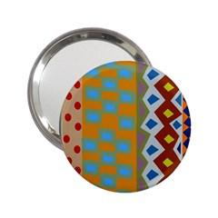 Abstract A Colorful Modern Illustration 2 25  Handbag Mirrors by Simbadda