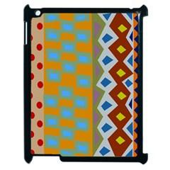 Abstract A Colorful Modern Illustration Apple Ipad 2 Case (black) by Simbadda