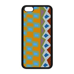Abstract A Colorful Modern Illustration Apple Iphone 5c Seamless Case (black) by Simbadda