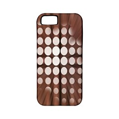 Technical Background With Circles And A Burst Of Color Apple Iphone 5 Classic Hardshell Case (pc+silicone) by Simbadda